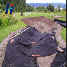 Polyester/Polypropylene Short fiber non woven geotextile drainage fabric for landfill