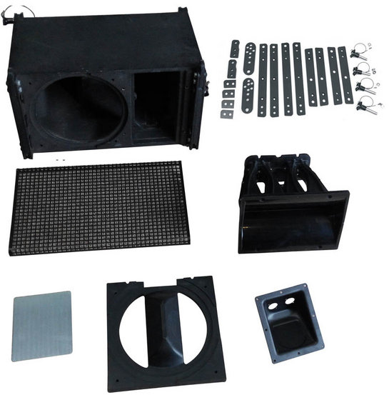 Professional pro dj line array powered 10 inch passive speaker