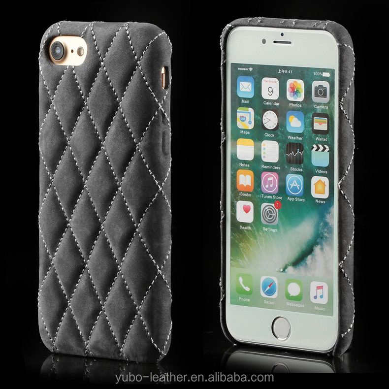 Stylish Diamond Embroidered Leather Case for iPhone 8 Cover Case