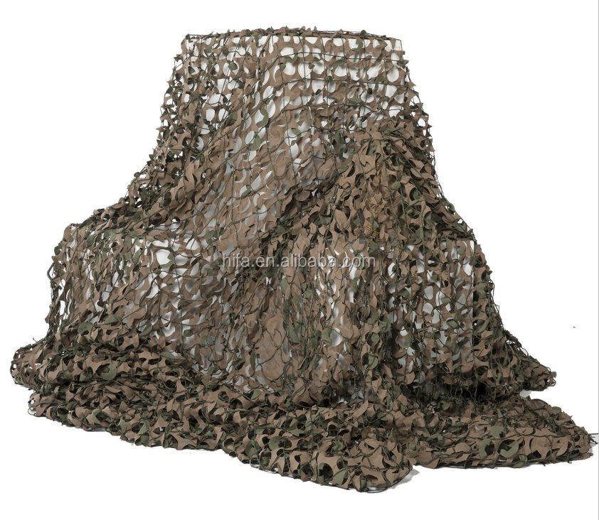 Hunting Blind Camo Net leaf-like foliage camouflage net