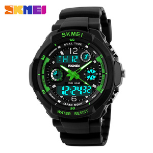 New Concept 5tam Waterproof Watch Digital In Wristwatch Ddual Time Sport Wrist Watches