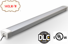 New design ip65 water proof dust proof industrial warehouse lighting 80w led linear tri-proof light