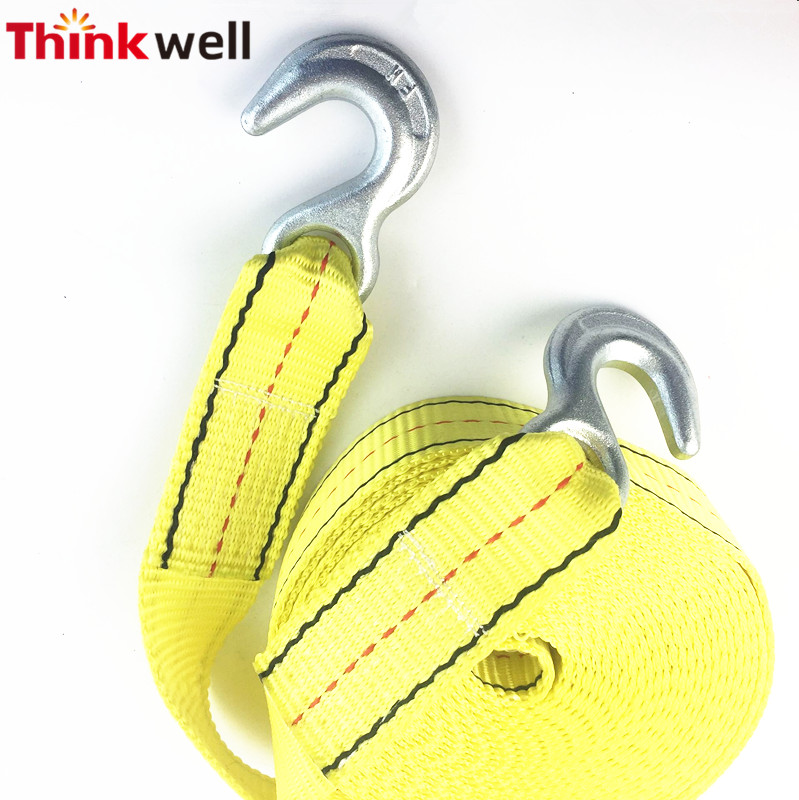 Thinkwell Polyester Tow Strap With Eye Hook