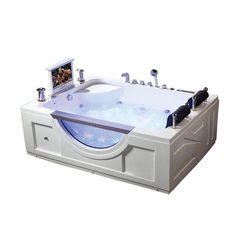 ダブルシートアクリル浴槽マッサージツインワールプール浴槽
