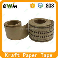 custom Kraft paper logo printed water activated packing tape