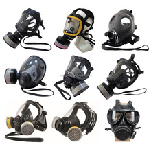 full face gas mask/NBC gas mask/military police gas mask