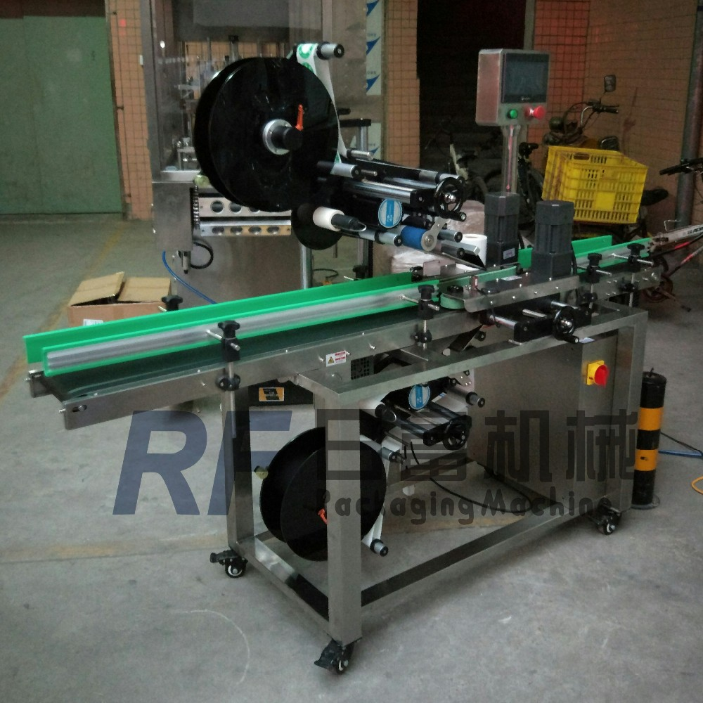 Automatic Top and down label applicator for box