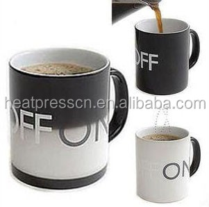 Magical ON/OFF Switch Color Changing Mug-Black