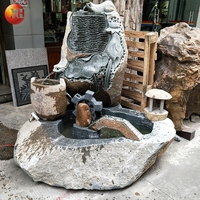 High Quality Natural Stone Popular Outdoor Fountain Supplier