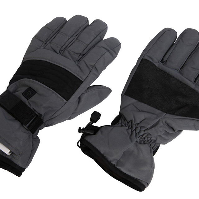 SnowWarm Battery Powered Heated Gloves Motorcycle