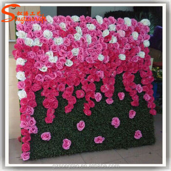 Artificial Plant Wall Home Decoration Artificial Flower Wall Fake