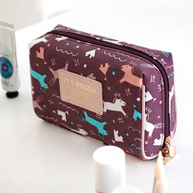 China Supplier Posh Travel Waterproof Cosmetic Bag Set For Women