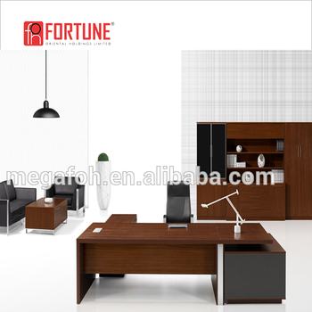 High End Italian Office Furniture Design Wooden Ceo Office Desk(FOH TXB321)