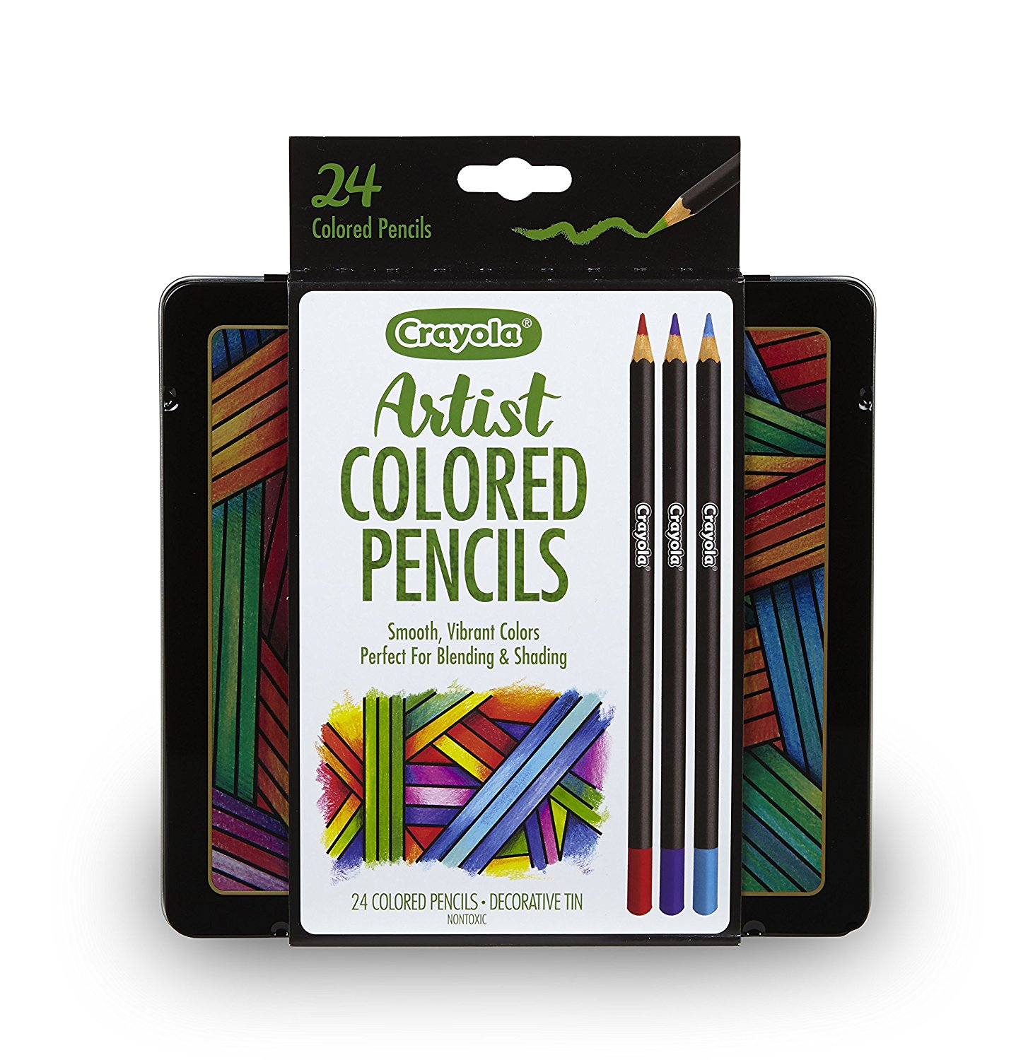 Crayola Artist Gel Colored Pencils Set, Professional Coloring Kit, Adult Coloring, Gift