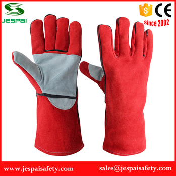Wholesale Top Quality Leather Welding Gloves