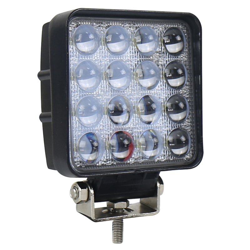 Auto Led Light 4 Inch 5D 48W Led Work Light Spot Light for Tractors SUV ATV Off-road