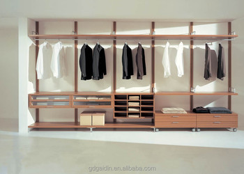 Merveilleux Wooden Clothes Rail And Cheap Wardrobe Closet Walk In Wardrobe Design Ideas