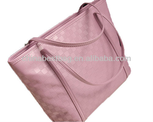 Trendy leather handbag ladies elegant handbags