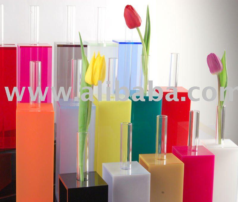 Multi Coloured Acrylic Vases Buy Vase Product on Alibaba