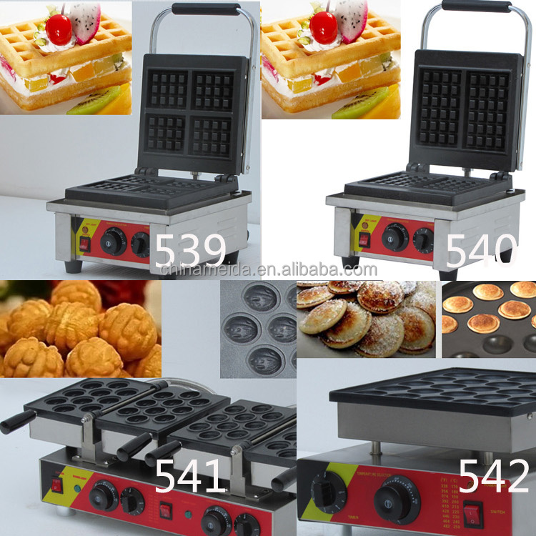 High Quality Commercial waffle maker custom plate For Sale Low Price