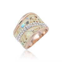 fashion gold puzzle ring R0593