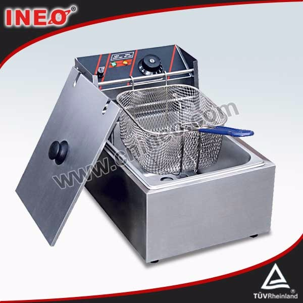 Professional Stainless steel peanut frying machine/deep fryer electric
