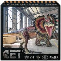 Cet-A-1301 Garden decoration Animated Dinosaur t rex dinosaur fighting games
