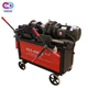 Construction Machinery Steel Rod Rib Peeling Parallel Thread Rolling Machine