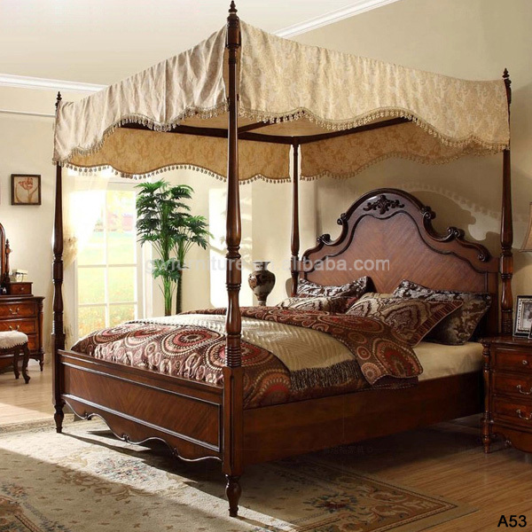 Wholesale beautiful wood bedroom furniture settop level quality