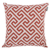 "Home  Linen/Cotton Throw Cushion Cover Printed  For Home Sofa Couch, Chair Back Seat,4pc pack 18x18"" in Color Red"