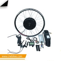 Complete kit!! Factory supply hub motor wheel 48v 1000w electric bike kit e-bike conversion kit with 48v dolphin battery