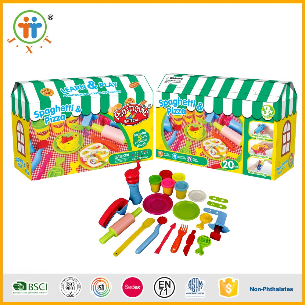 2017 Wholesale China Kid Educational Toy Modeling Color Art Clay ...
