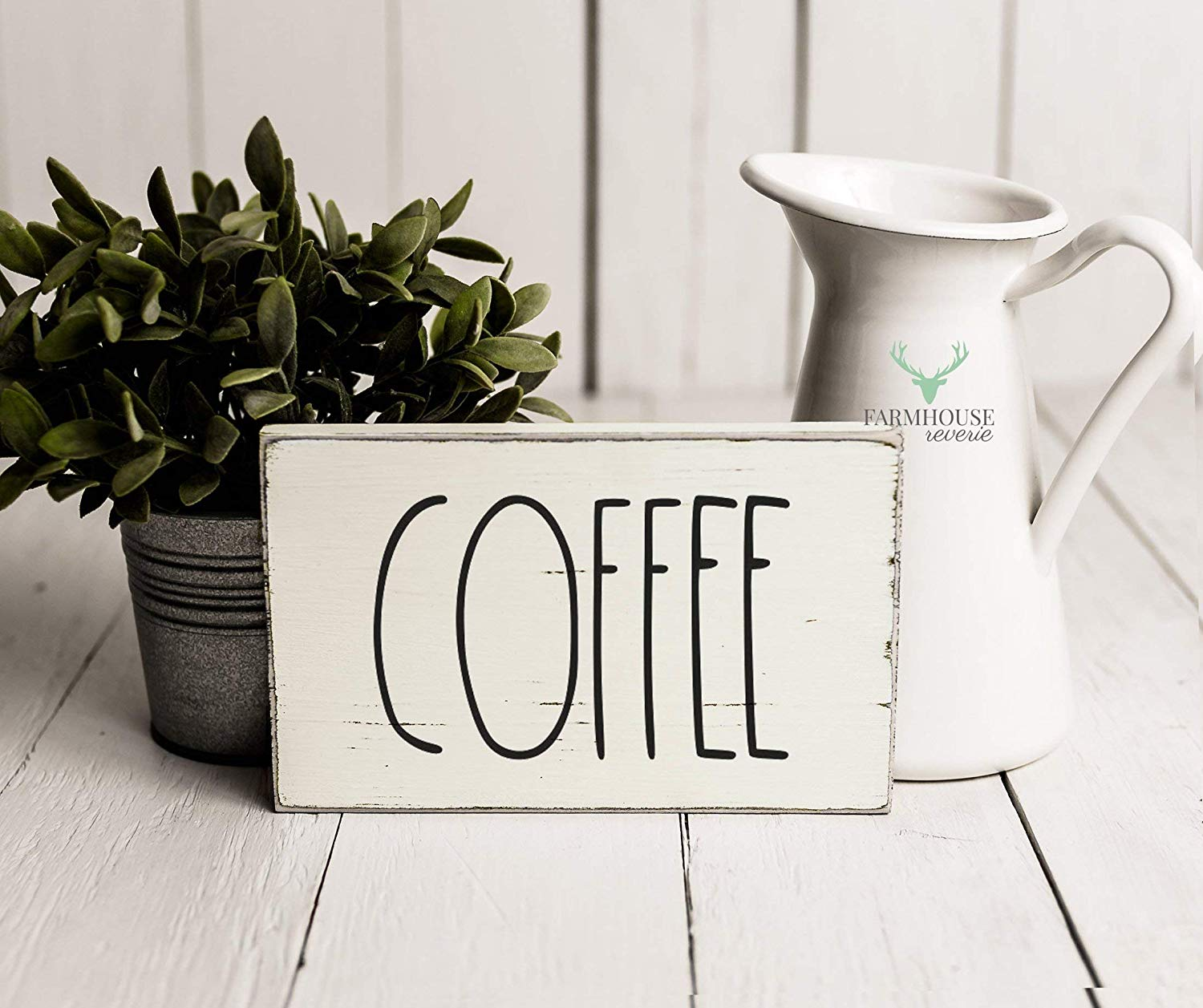 Rustic Coffee Sign | Rustic Wood Sign | Farmhouse Sign | Inspired Rae Dunn Sign | Rustic Home Decor | Farmhouse Home Decor | French Farmhouse Decor | Shabby Chic Decor | Primitive Decor