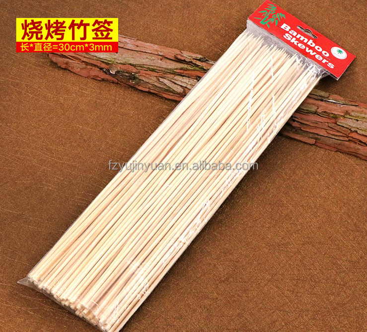flat thin bamboo sticks for massage price package bbq skewers 250mm box disposable for sale roast meat sticks size mint