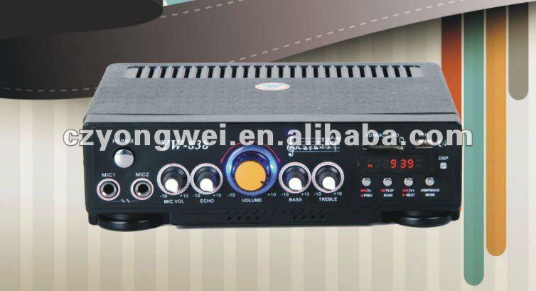 Yw-838 Professional Power Amplifier Good Quality
