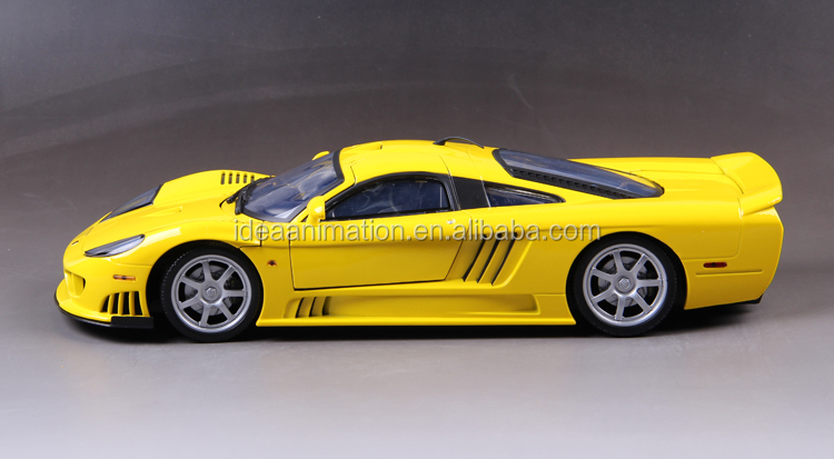 OEM high quality detailed zinc alloy metal diecast 1/12 scale diecast cars China factory