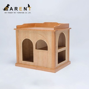 730*555*665 pet cat house cage waterproof cat wood house