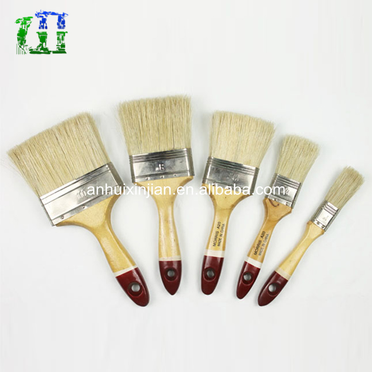 Custom-made wooden handlepaint paint brush with low price