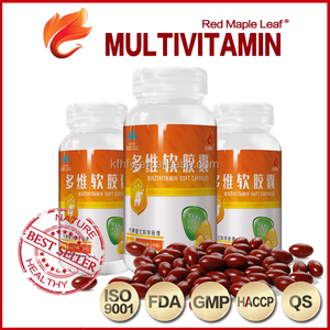 OEM Vitamins Private Label Vitamin B Vitamin E Multivitamin Softgel Capsules