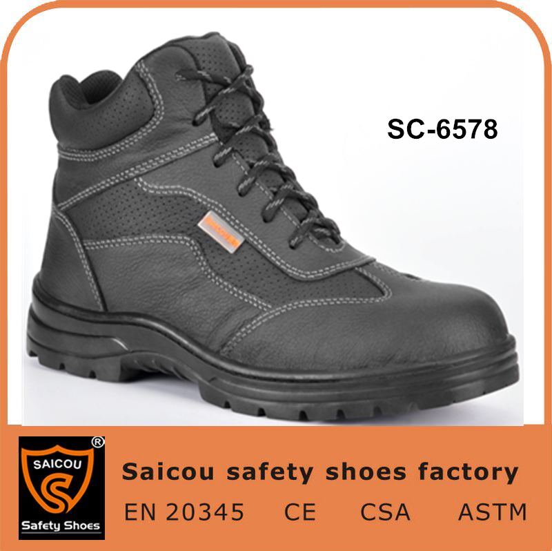 Steel Toe Rubber Sole Boots And Woodland Portugal Safety Shoes ...