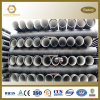 Ductile Iron Pipe pricing as per standard ISO 2531 / EN 545 /EN 598 for DN80 - DN2600mm
