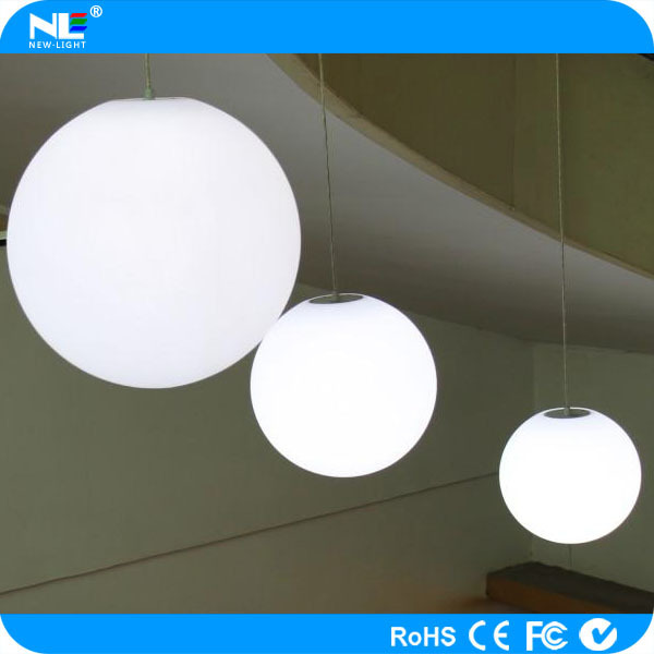 Indoor and outdoor small RGB plastic clear led hanging light balls & Indoor And Outdoor Small Rgb Plastic Clear Led Hanging Light Balls ...
