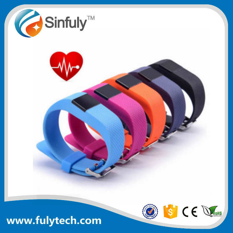 Tw64S Sport Smart Bracelet Heart Rate Monitor Wristband Fitness Tracker Bluetooth 4.0 For iPhone ios Android <strong>Phone</strong> Smart Band
