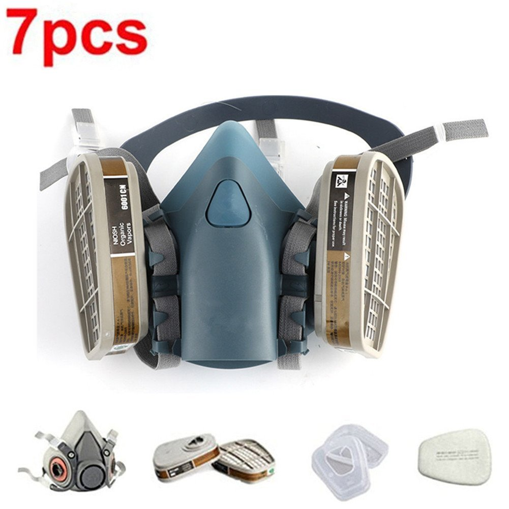 Festive & Party Supplies For 6800 Gas Mask Full Face Facepiece Respirator 7pcs Kit Painting Spraying Mask Grey Cleaning The Oral Cavity. Back To Search Resultshome & Garden