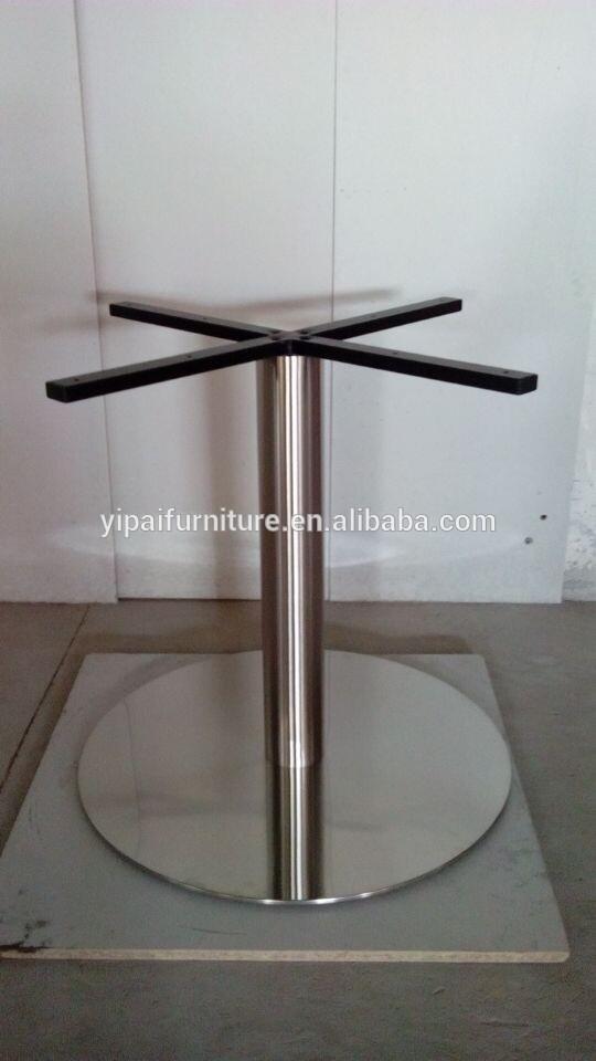 Modern Stainless Steel Metal Folding Heavy Duty Dining Table Base ...