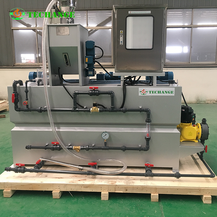 Automatic Flocculant polymer Dosing System for Chemical Plant