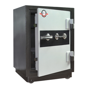 Secure Documents Fire Resistant Safe Box Fire Safe with 2 Key Locks