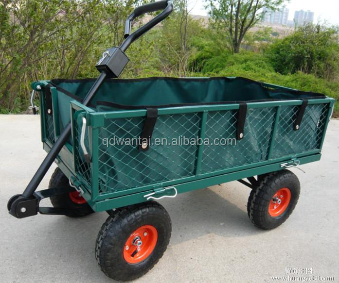 qingdao wantai high quality children garden wagon tool cart