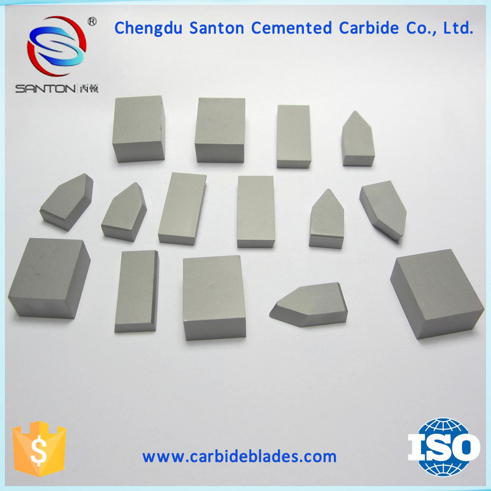 YG6X tungsten carbide saw tips for TCT saw blades