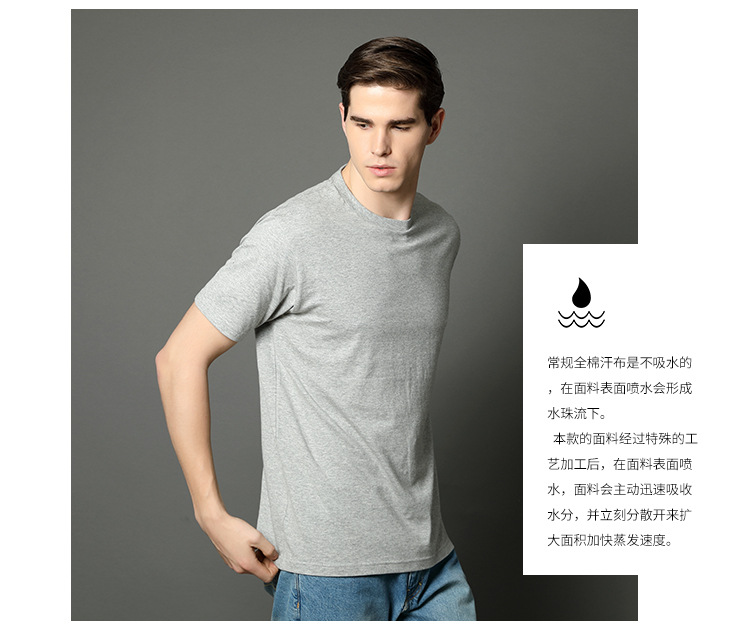 sports t-shirt printing 100% cotton men custom